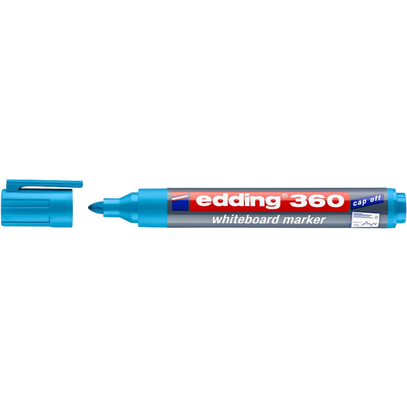 EDDING 360 WHITEBOARD MARKER (LIGHT BLUE)