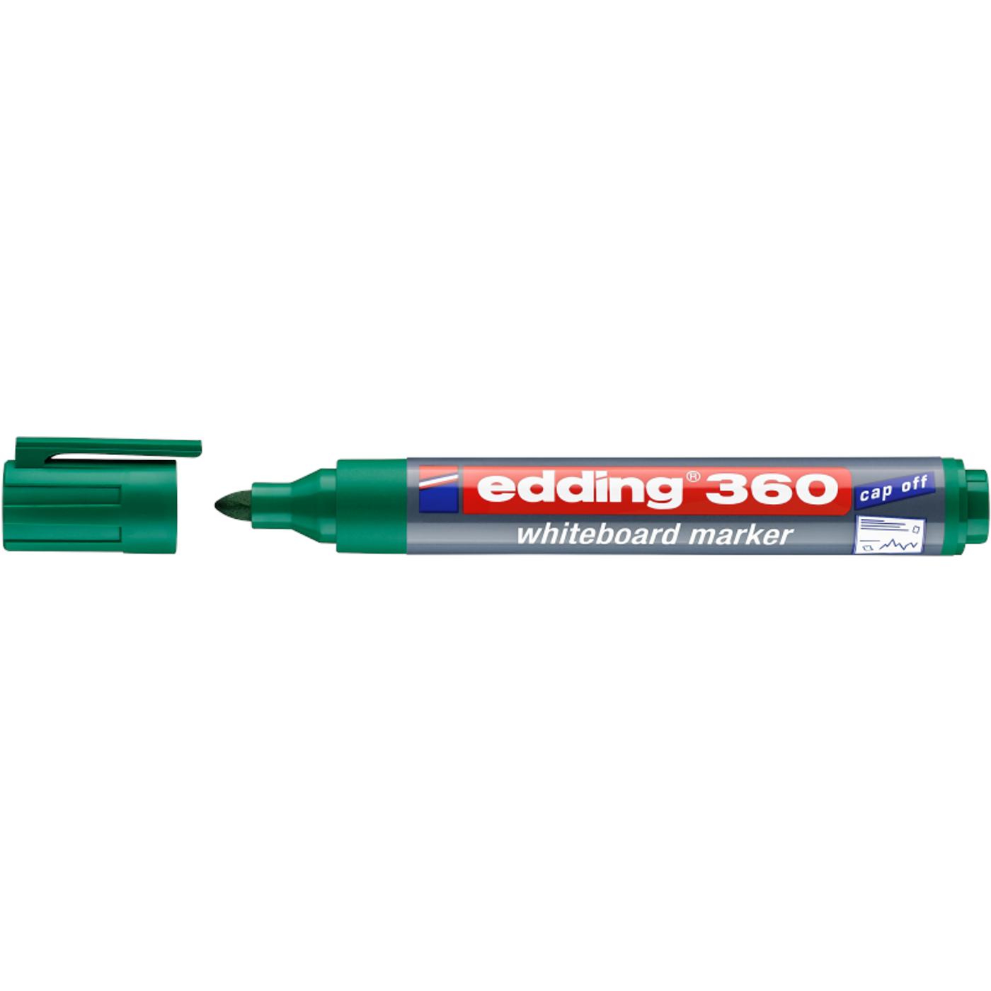 EDDING 360 WHITEBOARD MARKER (GREEN)