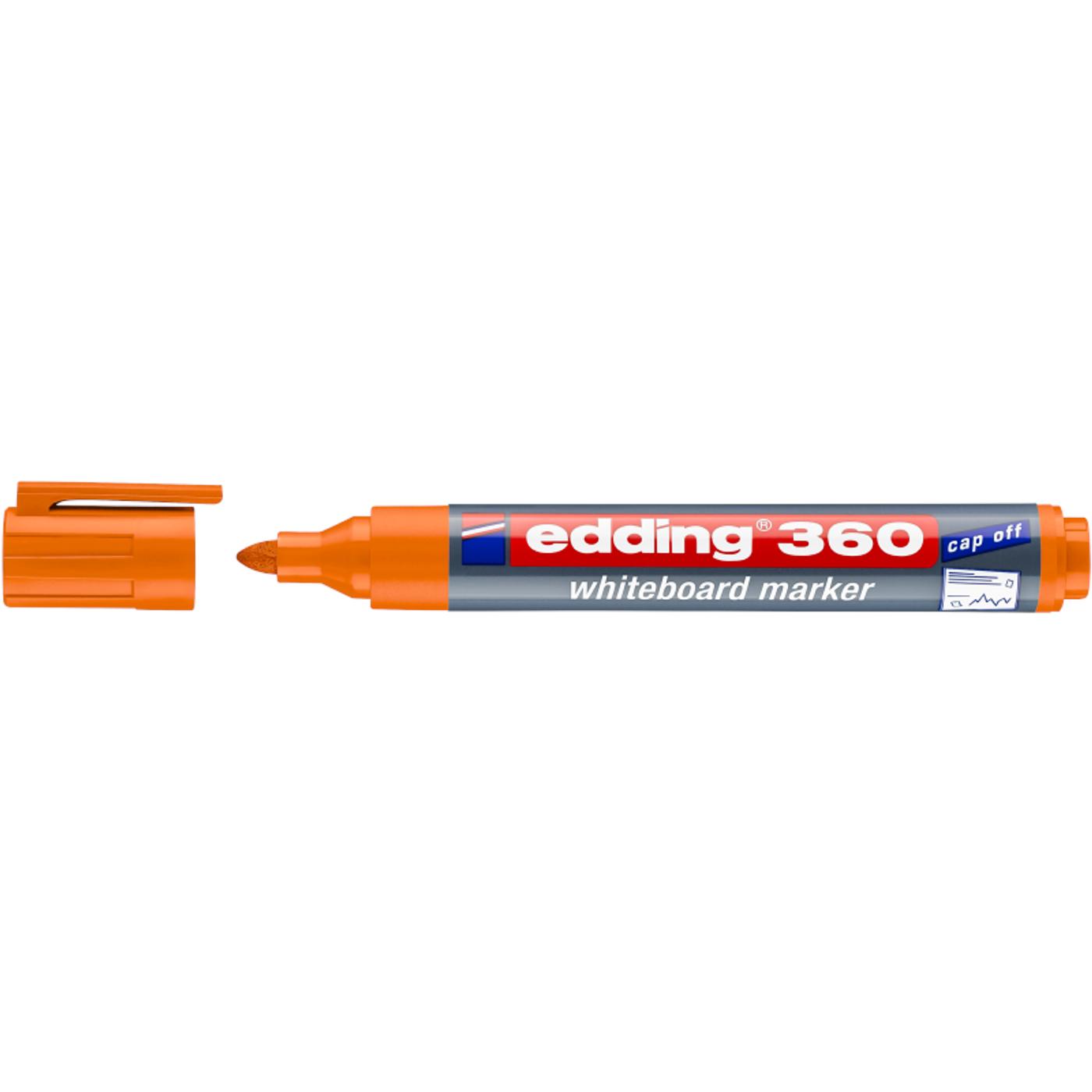 EDDING 360 WHITEBOARD MARKER (ORANGE)