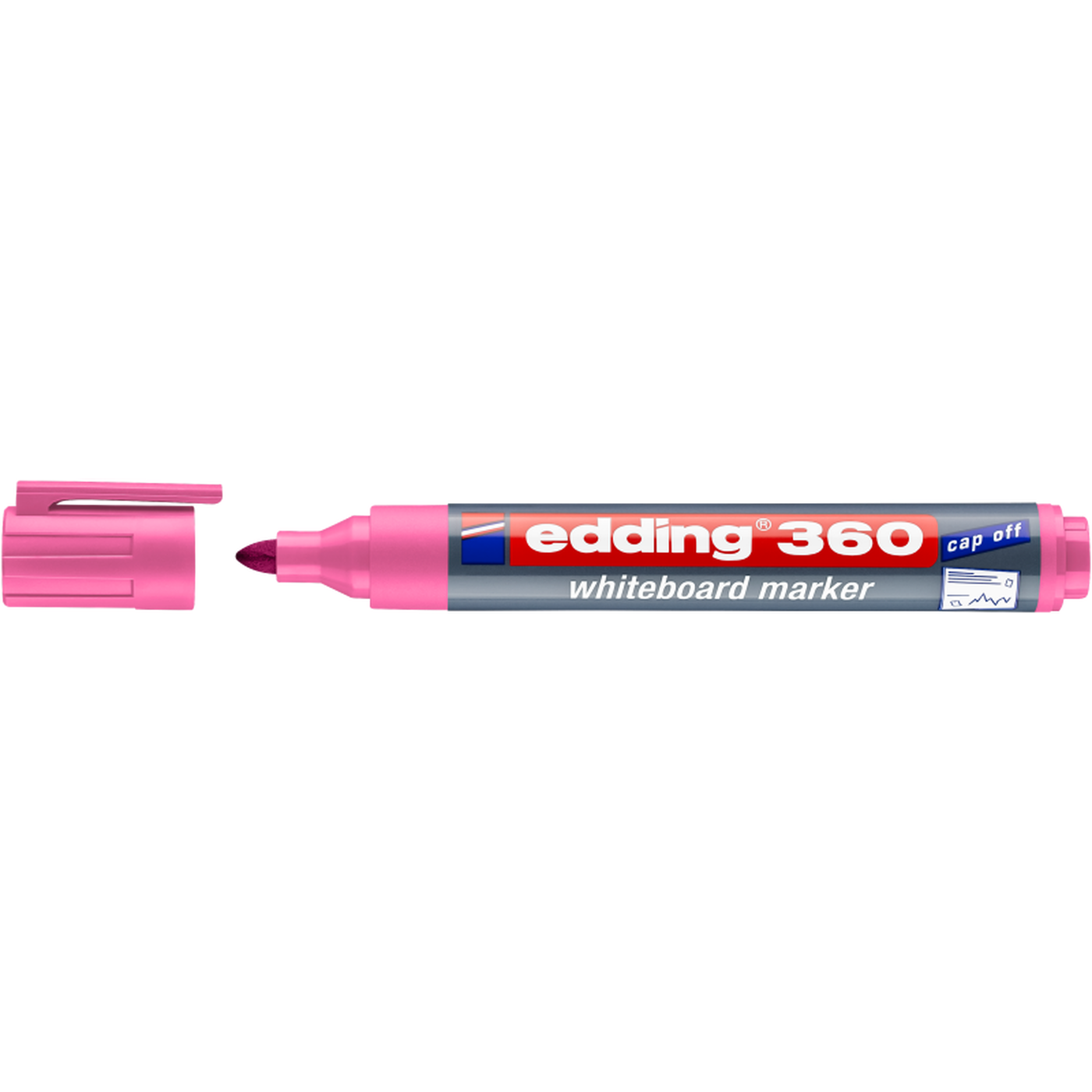 EDDING 360 WHITEBOARD MARKER (PINK)