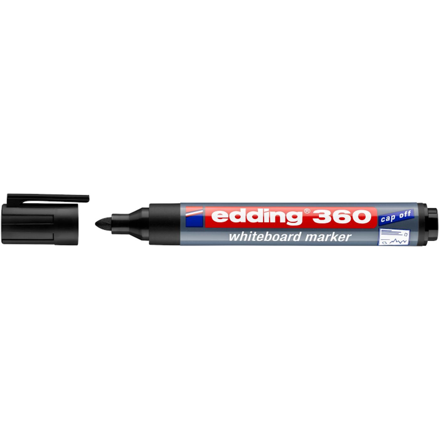 EDDING 360 WHITEBOARD MARKER (BLACK)