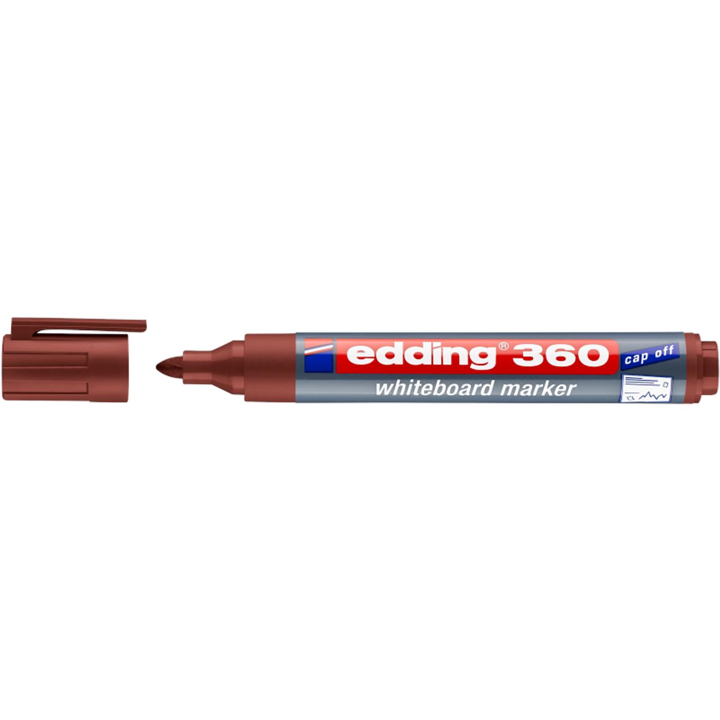 EDDING 360 WHITEBOARD MARKER (BROWN)