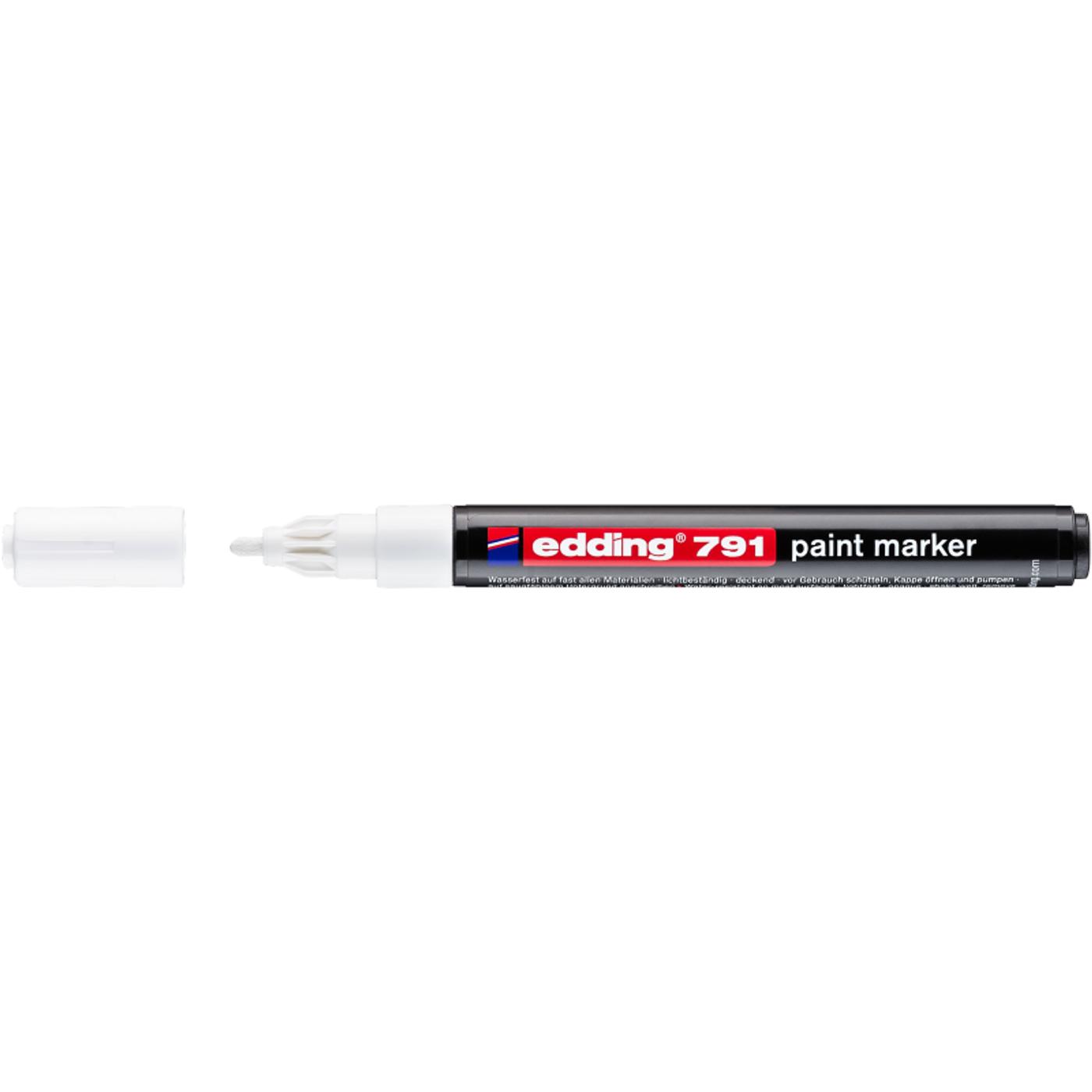EDDING 791 PAINTMARKER (WHITE)