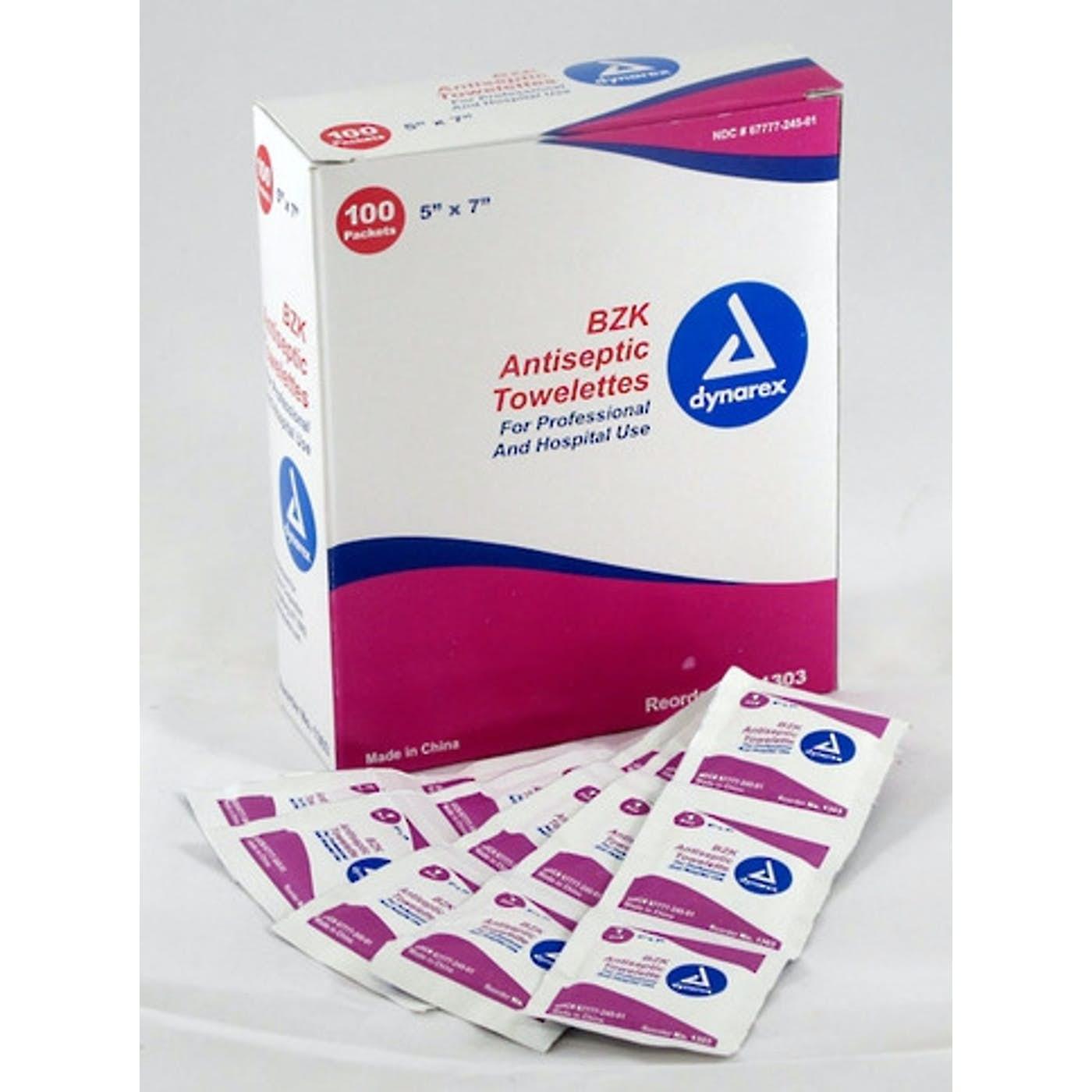 ANTISEPTIC WIPES  BOX100