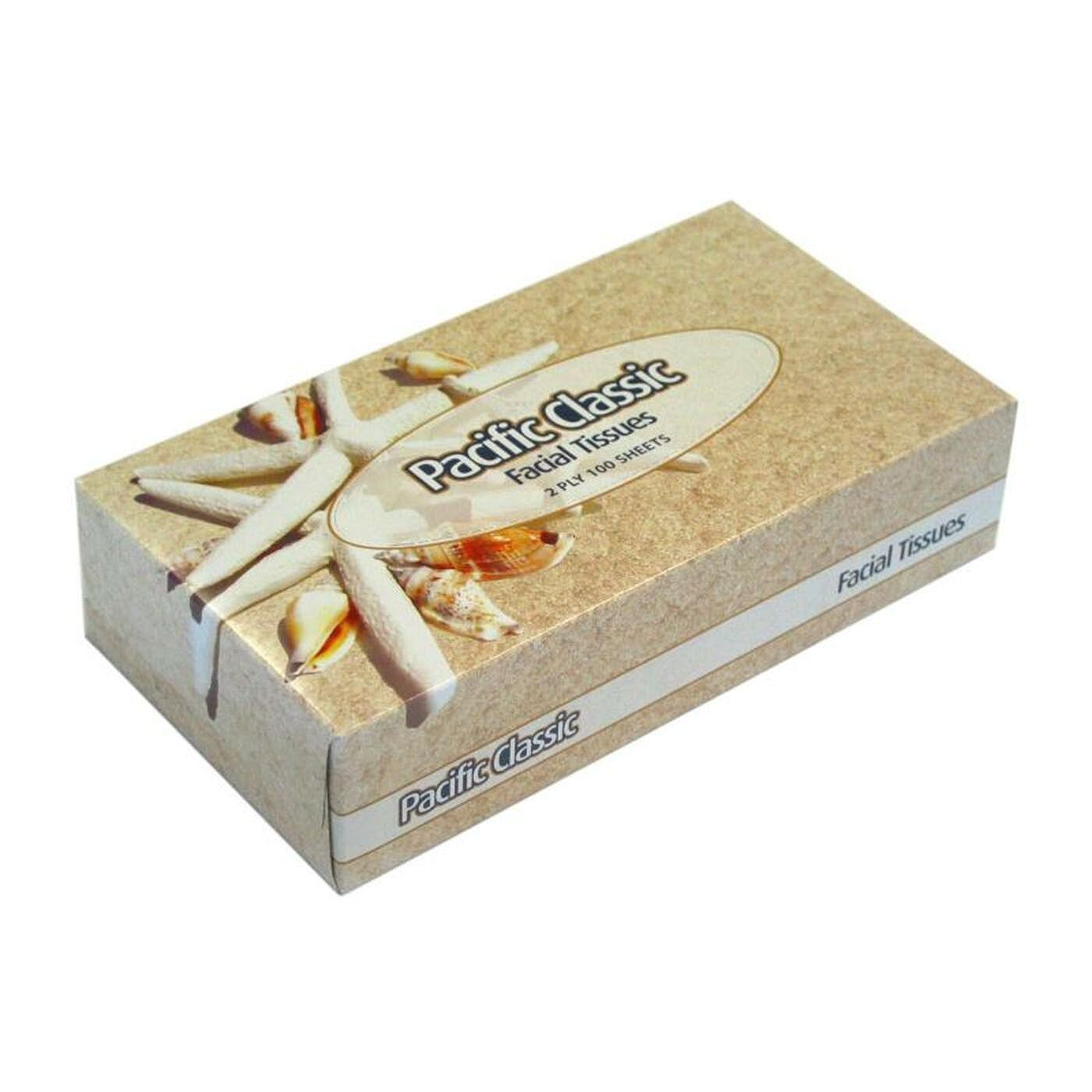 FACIAL TISSUES  BOX 100