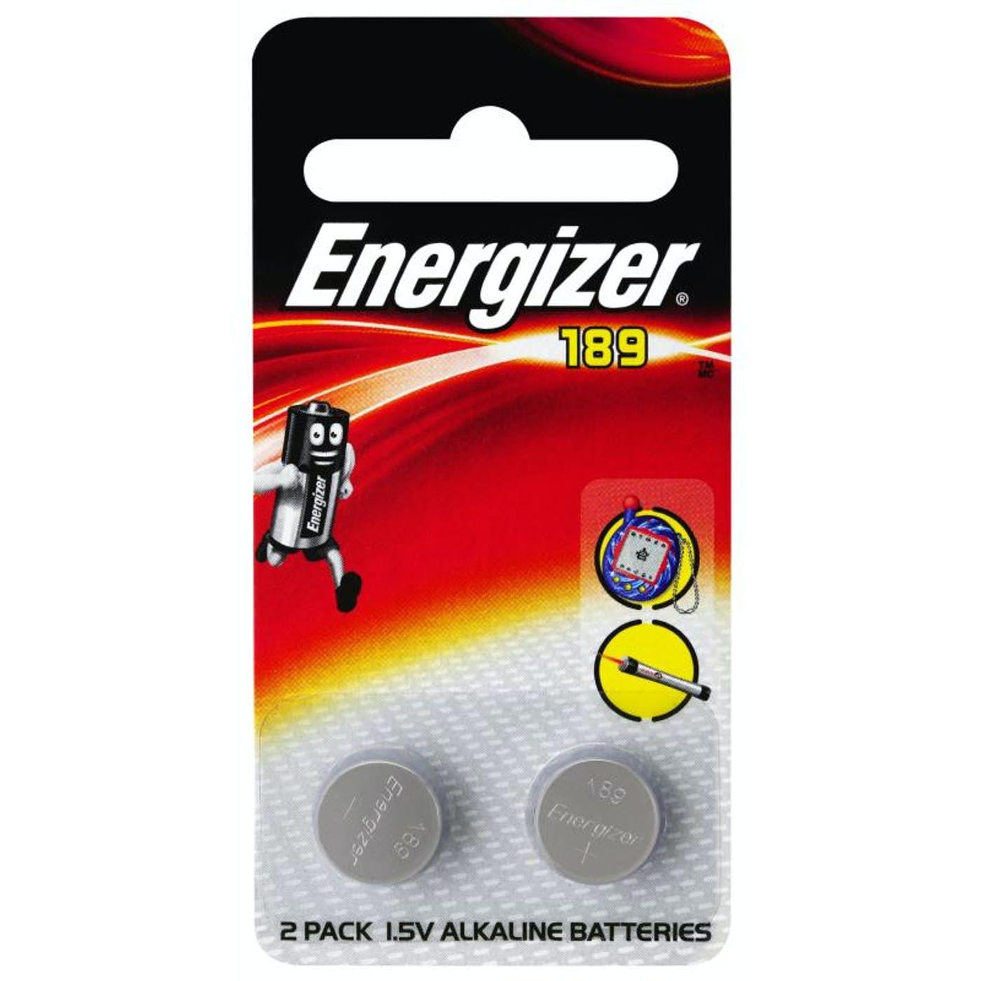 ENERGIZER 189 CALCULATOR BUTTON BATTERY  PKT 2