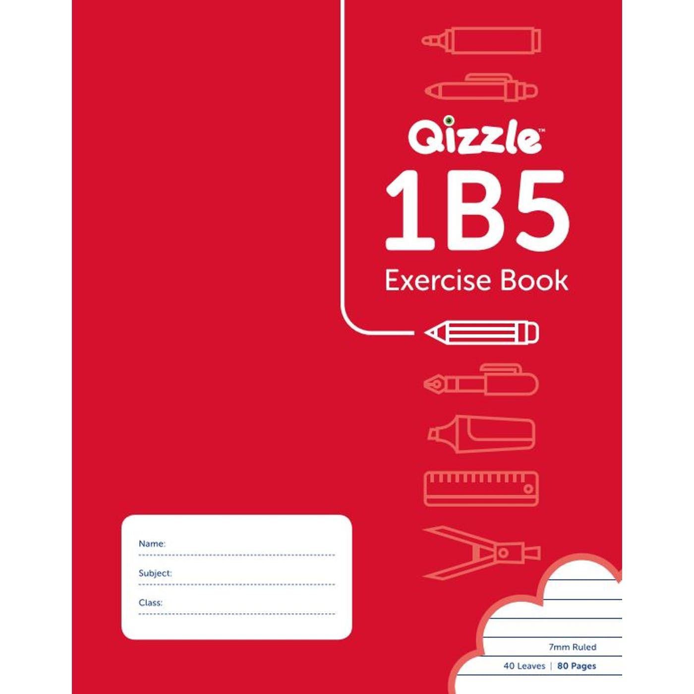 1B5 WARWICK EXERCISE BOOK