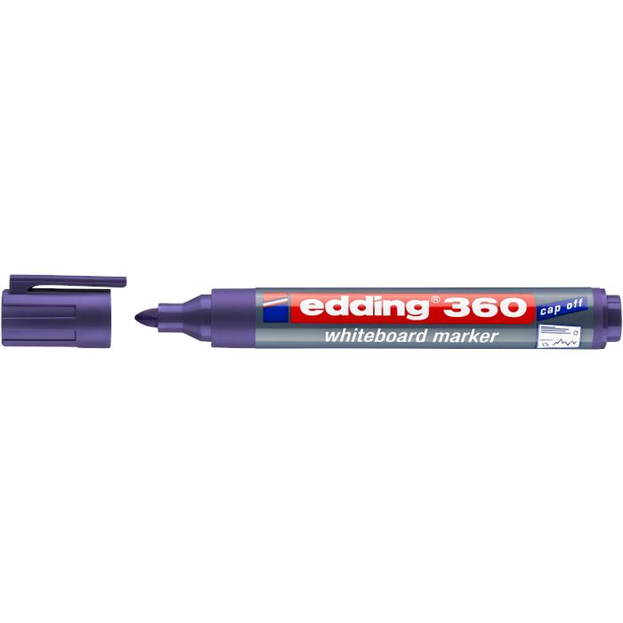 EDDING 360 WHITEBOARD MARKER (VIOLET)