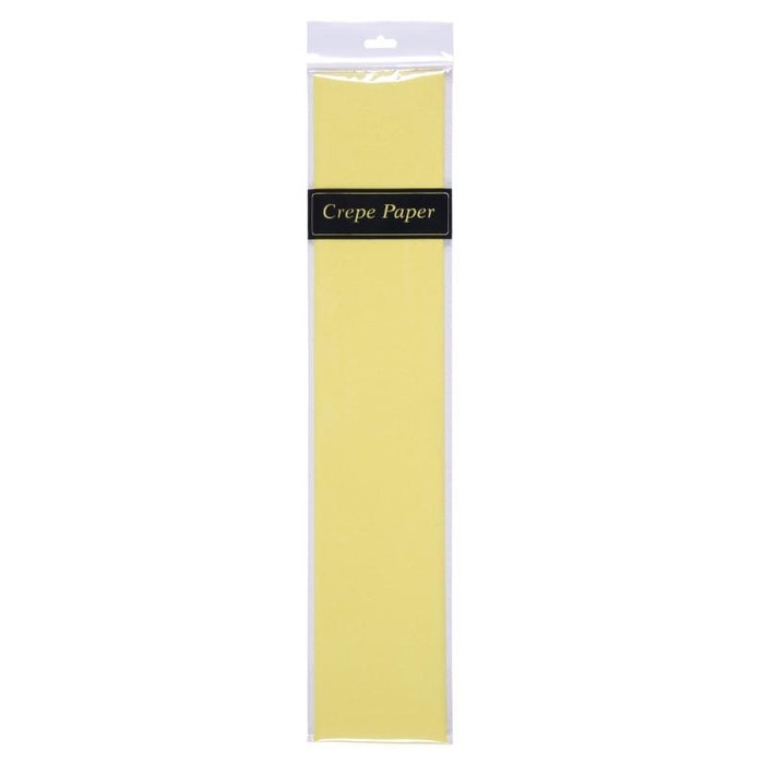 METALLIC CREPE PAPER (GOLD)