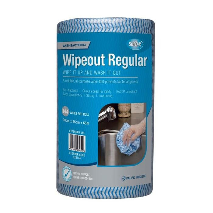 WIPEOUT REGULAR WIPES (BLUE)