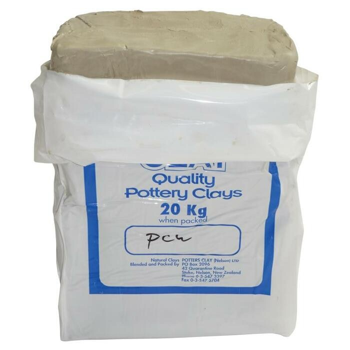 POTTERS MODELLING CLAY WHITE, 20KG