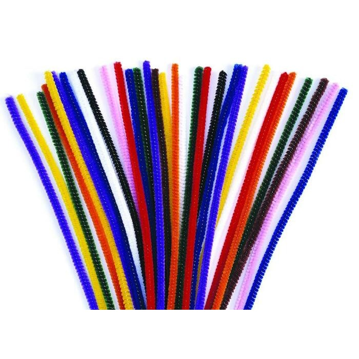 THICK PIPE CLEANERS, PKT 100