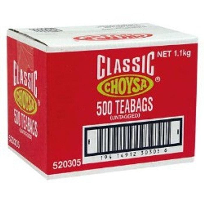 CHOYSA TEABAGS, *BOX 500*