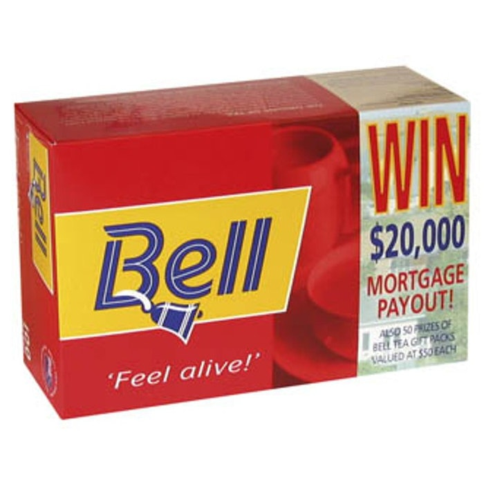 BELL TEABAGS, BOX 100
