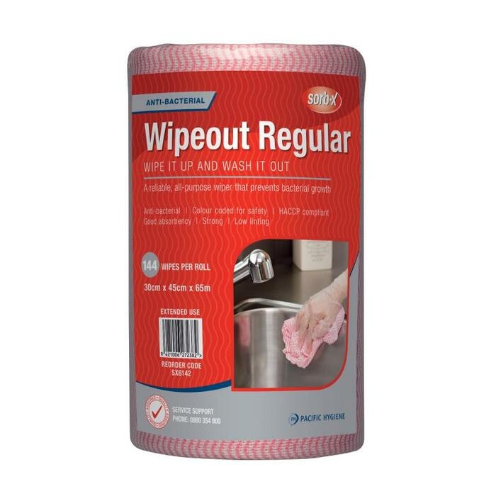 WIPEOUT REGULAR WIPES (RED)