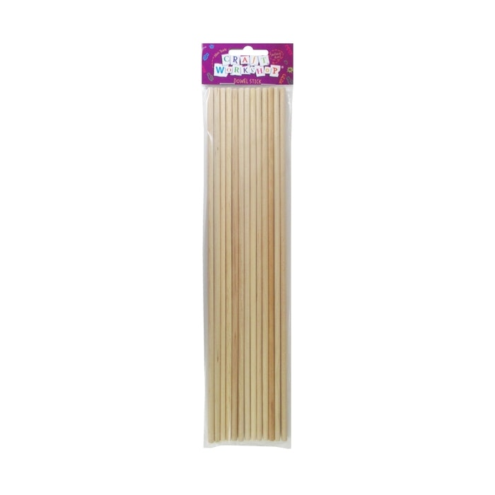 CRAFT DOWEL STICK 8MM, PKT 8