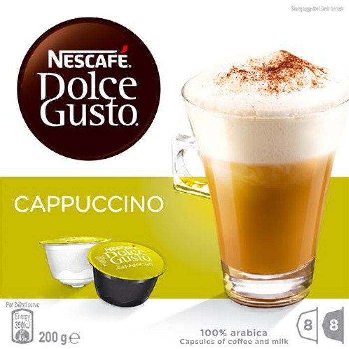 NESCAFE COFFEE CAPSULES (A - CAPPUCCINO), PKT 16