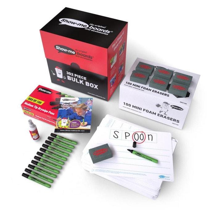 PHONEME SHOW-ME BOARD 4-FRAME, BULK BOX 100