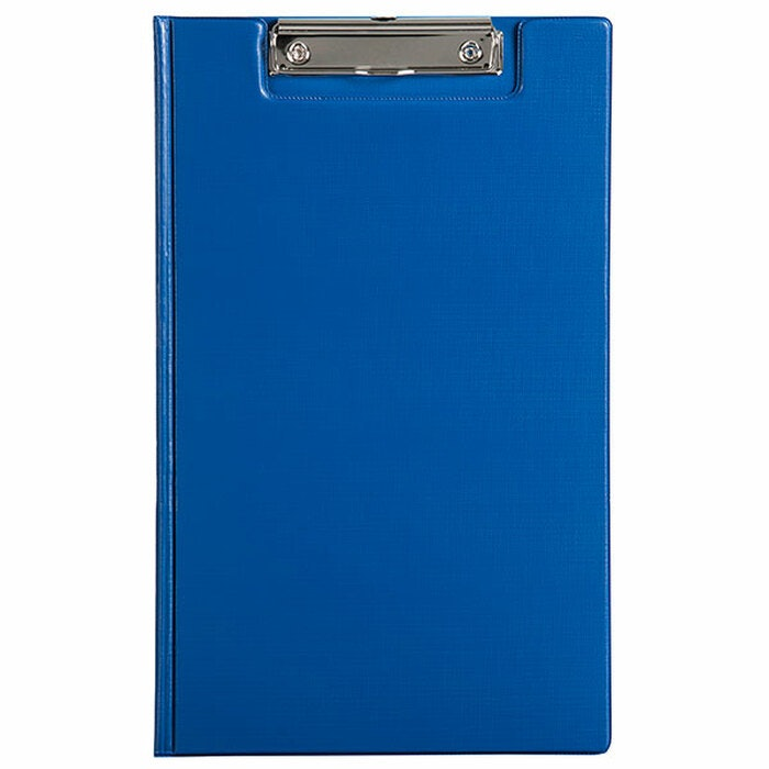PVC CLIPBOARD WITH FLAP FOOLSCAP