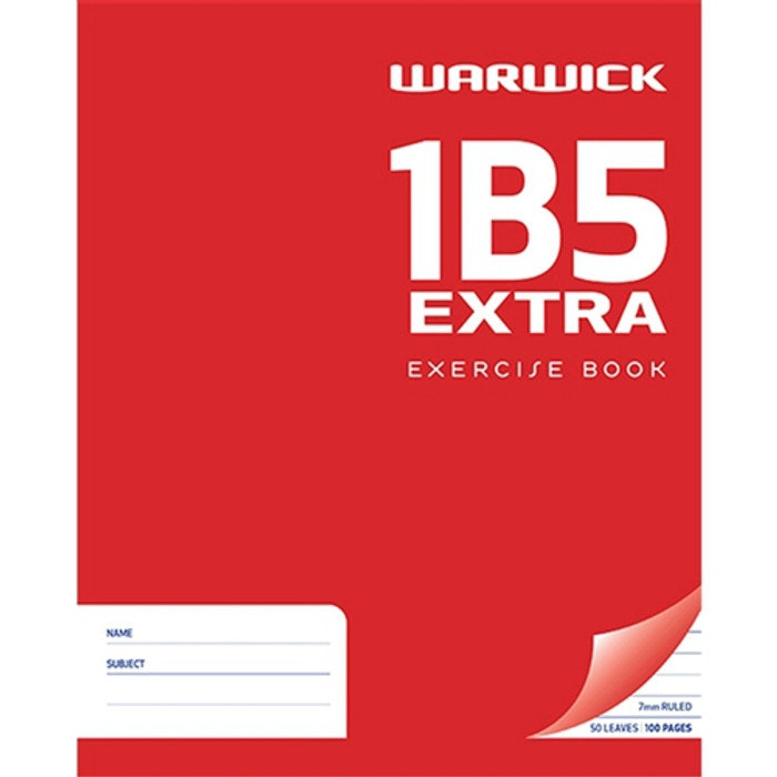 1B5 *EXTRA* EXERCISE BOOK 50 LEAF