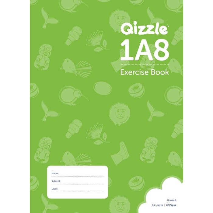 1A8 EENY MEENY EXERCISE BOOK