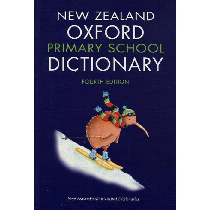 NZ OXFORD PRIMARY SCHOOL DICTIONARY 9780195585032