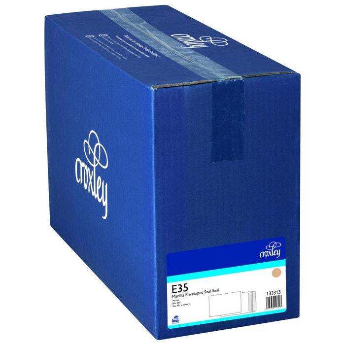 ENVELOPES E35 PLAIN MANILLA  BOX 250