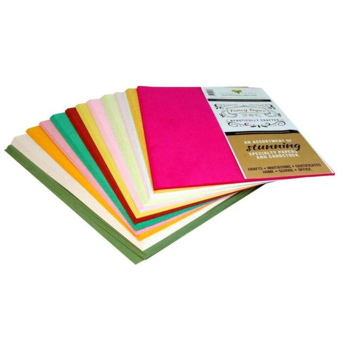 FANCY PAPER AND CARD PACK 1KG