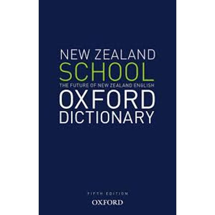 NZ OXFORD SCHOOL DICTIONARY 9780195585223