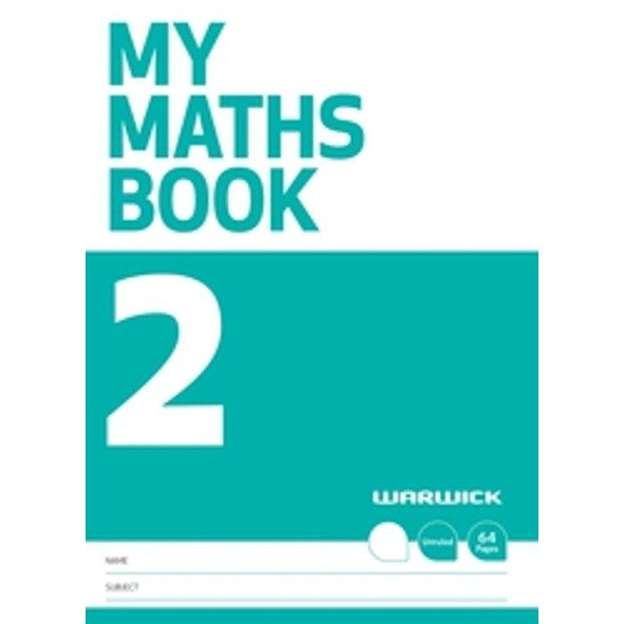 WARWICK MY MATHS BOOK NO.2 UNRULED