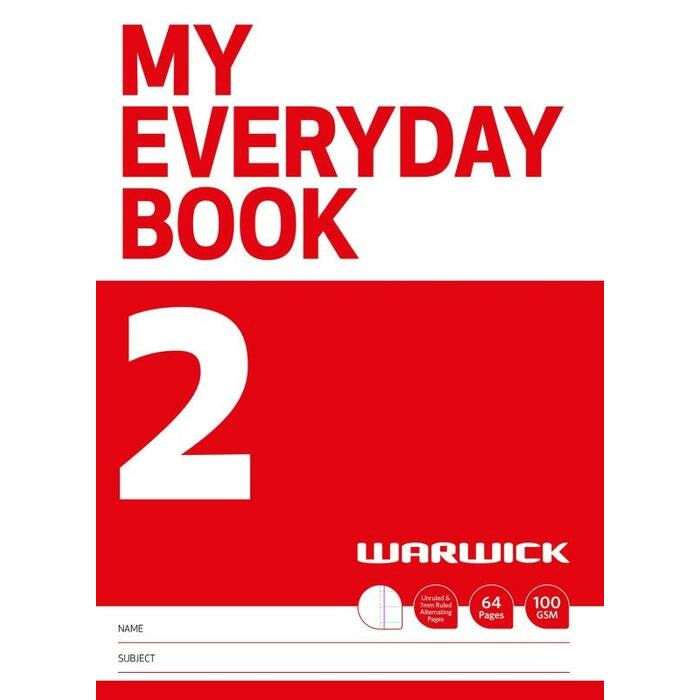 WARWICK MY EVERYDAY BOOK 2