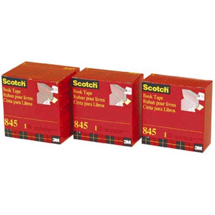 SCOTCH 845 BOOK TAPE 50MM X13.7M