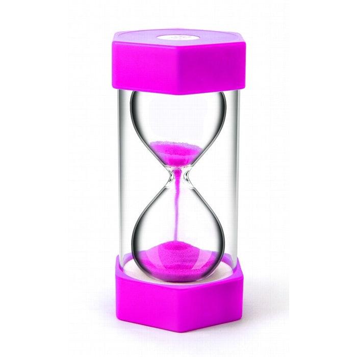 SAND TIMER MEGA, 2 MINUTES, PINK