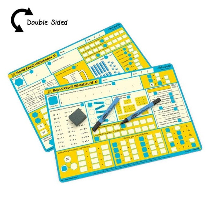 RAPID RECALL BOARDS (LEVEL 2), PKT 30
