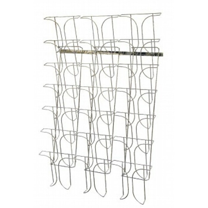 21 POCKET WALL RACK