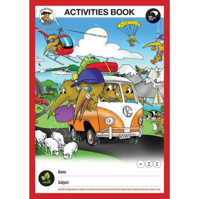 CLEVER KIWI ACTIVITY BOOK