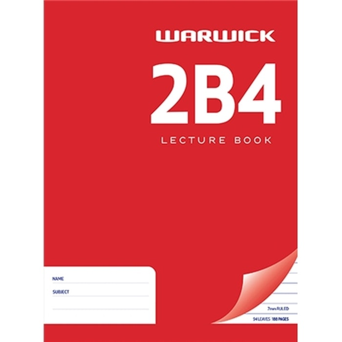 2B4 WARWICK HARD COVER BOOK