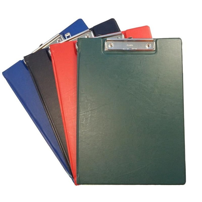 BANTEX A4 CLIPBOARD WITH FLAP, GREEN
