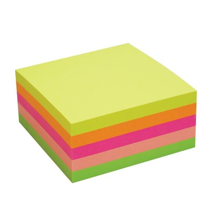 NEON NOTES CUBE ASSORTED