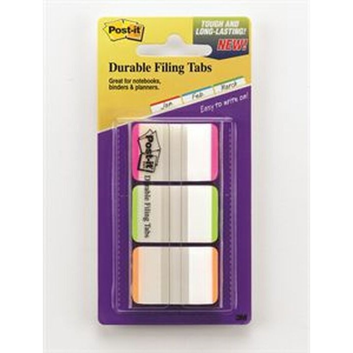POST-IT DURABLE FILING TABS, PKT 66