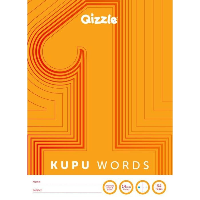 KUPU WORDS 1 BOOK