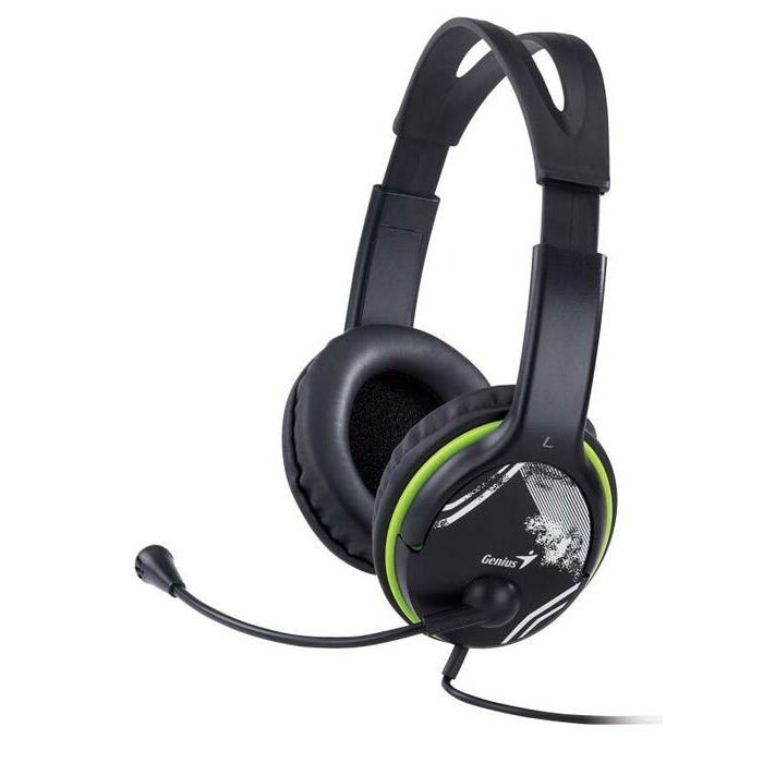GENIUS HS400A HEADBAND HEADSET WITH MICROPHONE