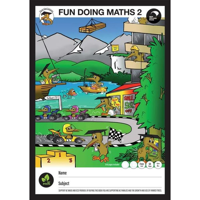 CLEVER KIWI MATHS BOOK #2